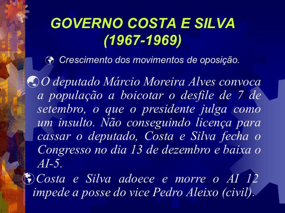 GOVERNO COSTA E SILVA (1967-1969)
