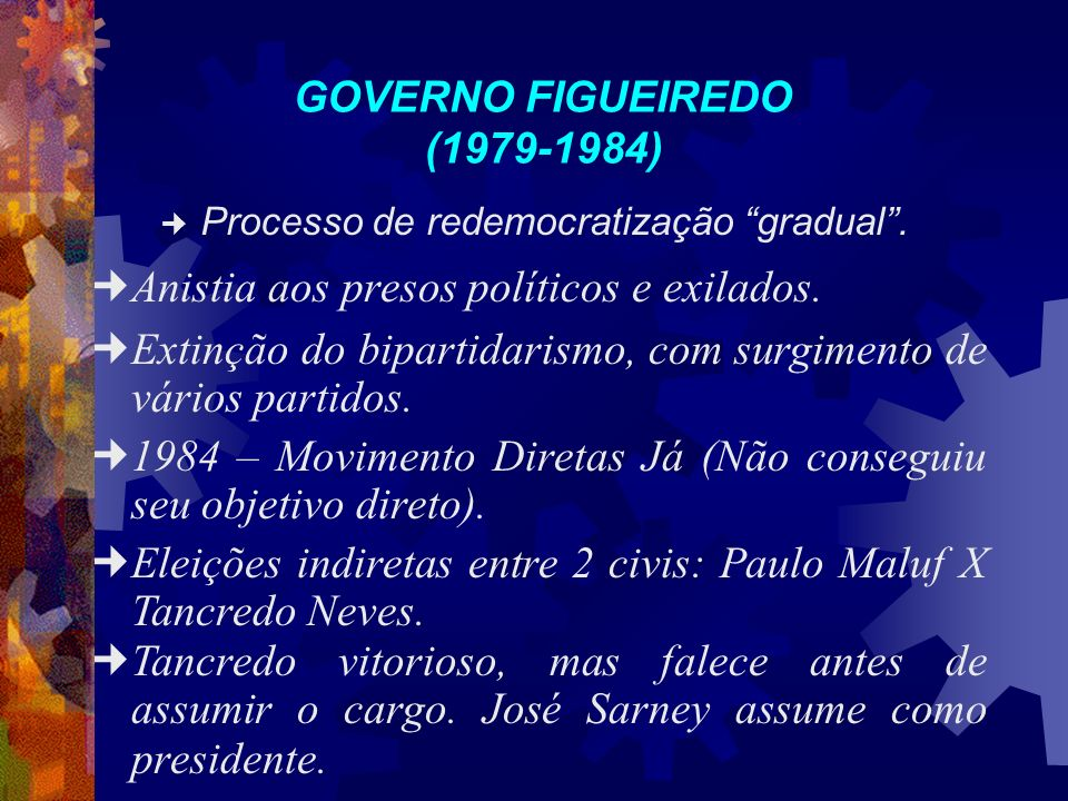 GOVERNO FIGUEIREDO (1979-1984)