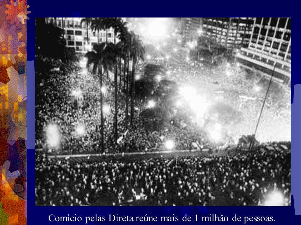 Comício pelas Direta reúne mais de 1 milhão de pessoas.