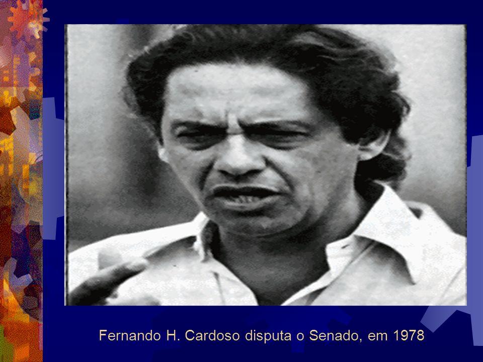 Fernando H. Cardoso disputa o Senado, em 1978