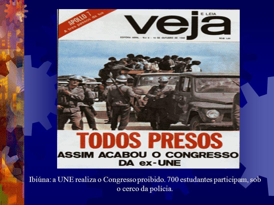 Ibiúna: a UNE realiza o Congresso proibido