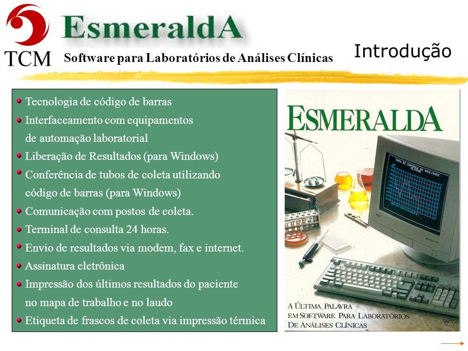 Introdução Software para Laboratórios de Análises Clínicas