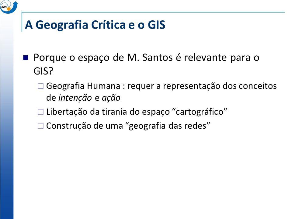A Geografia Crítica e o GIS