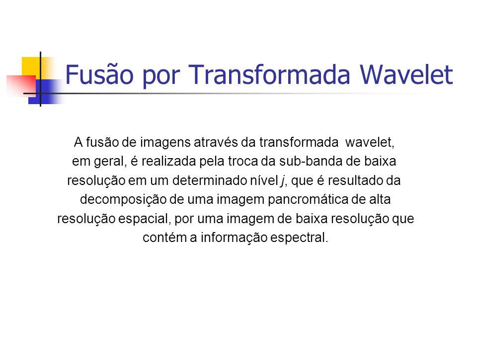 Fusão por Transformada Wavelet