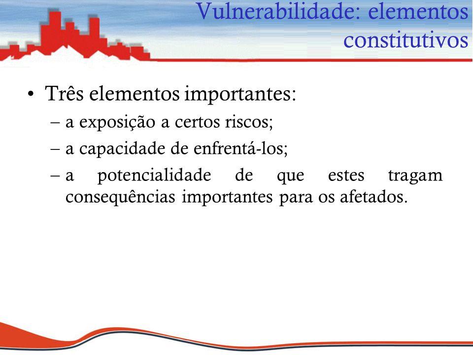 Vulnerabilidade: elementos constitutivos