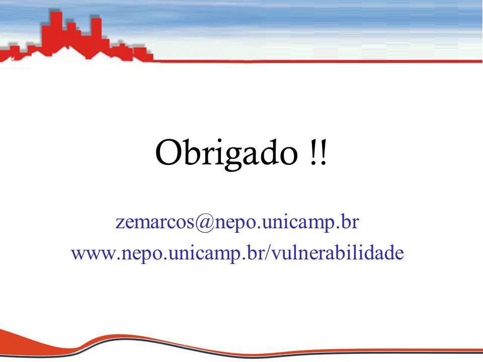 Obrigado !! zemarcos@nepo.unicamp.br