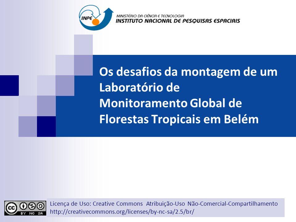 Os desafios da montagem de um Laboratório de Monitoramento Global de Florestas Tropicais em Belém