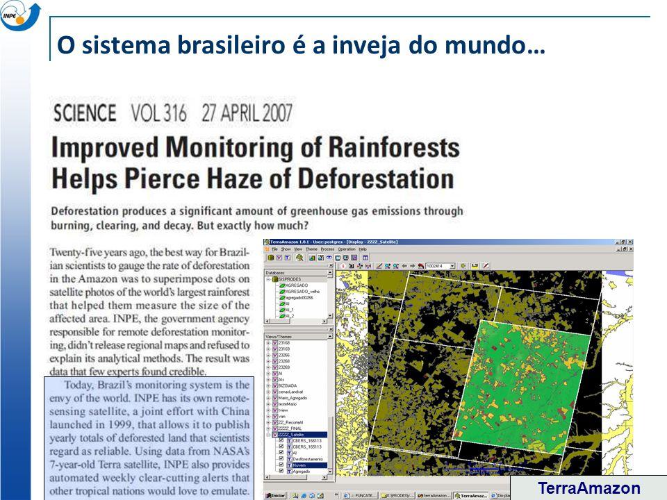 O sistema brasileiro é a inveja do mundo…