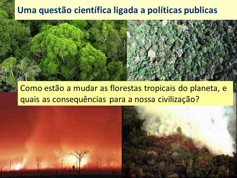 Uma questão científica ligada a políticas publicas