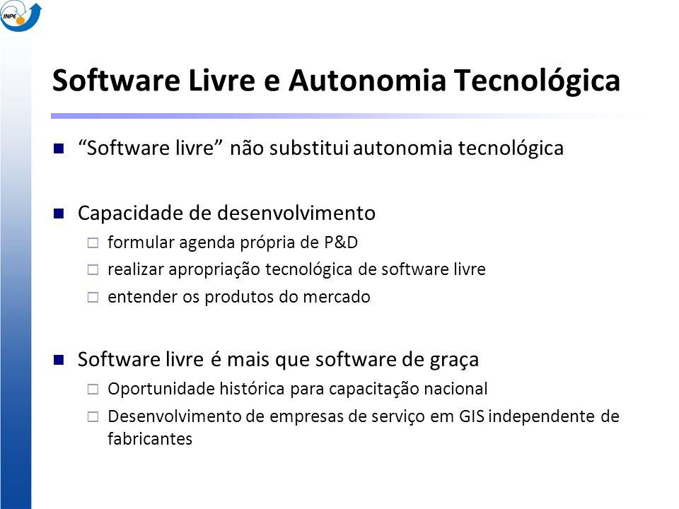 Software Livre e Autonomia Tecnológica