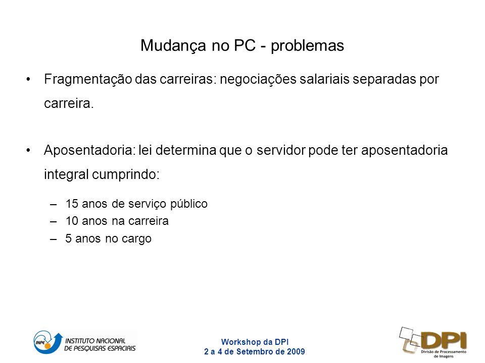Mudança no PC - problemas