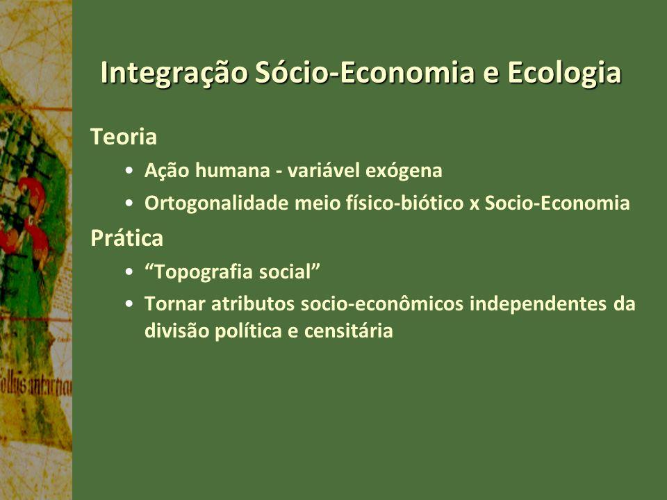 Integração Sócio-Economia e Ecologia