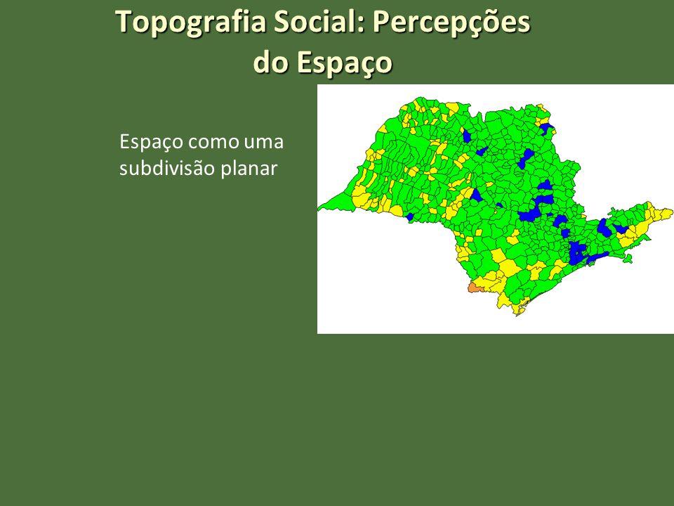 Topografia Social: Percepções do Espaço