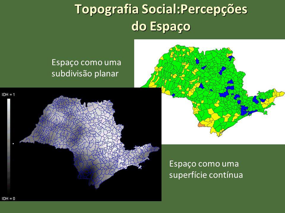 Topografia Social:Percepções do Espaço