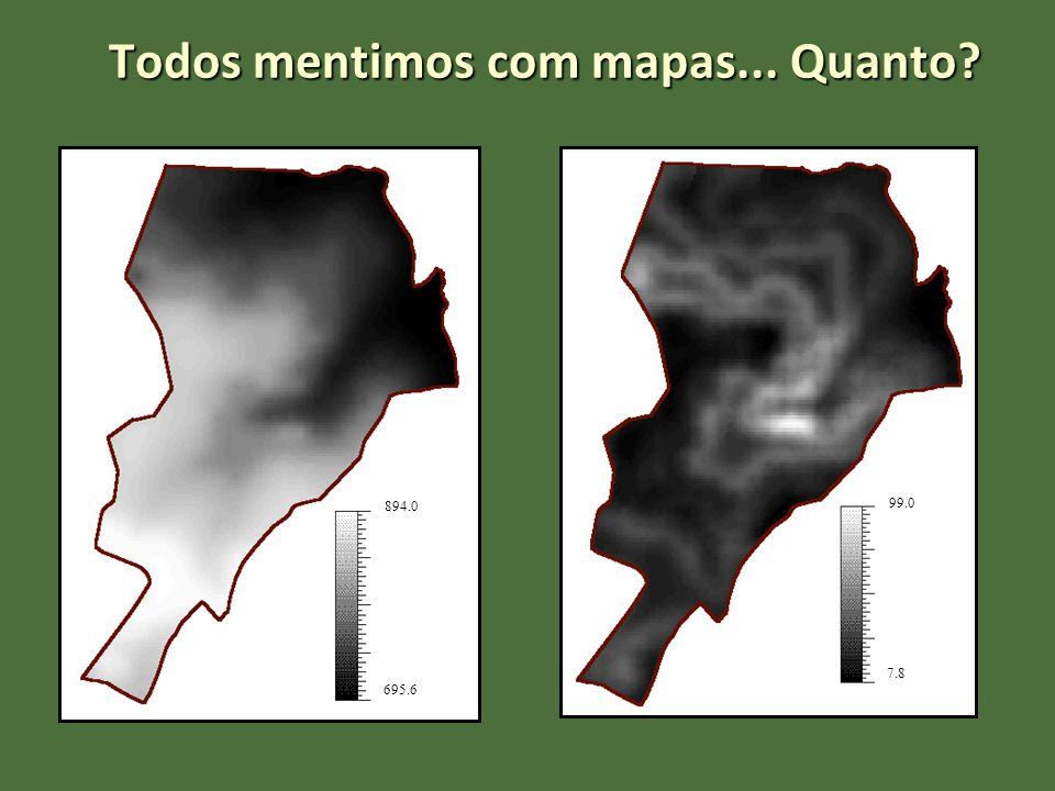 Todos mentimos com mapas... Quanto