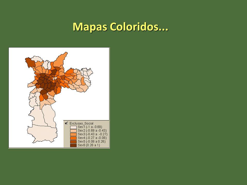 Mapas Coloridos...