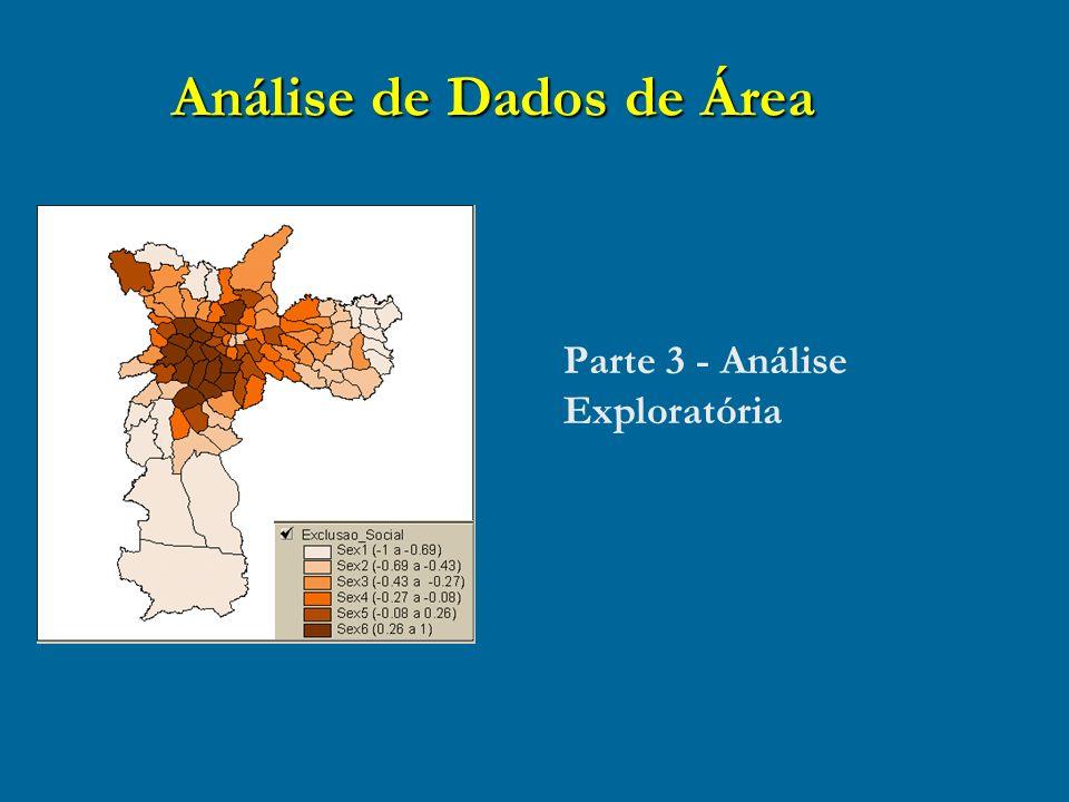Análise de Dados de Área