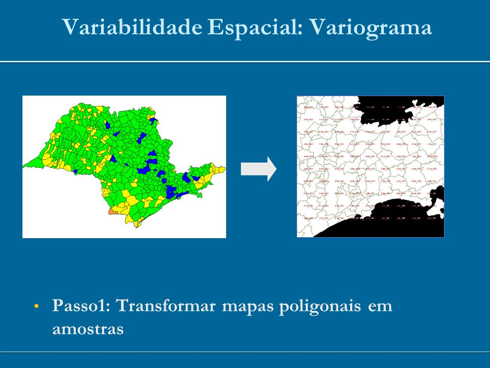 Variabilidade Espacial: Variograma