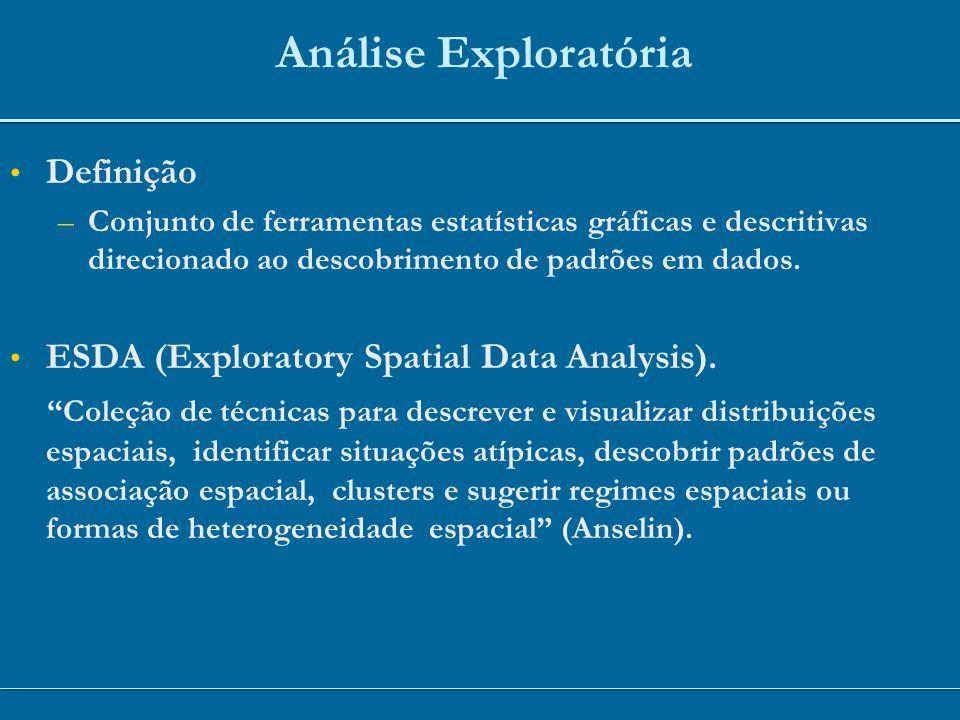 Análise Exploratória Definição