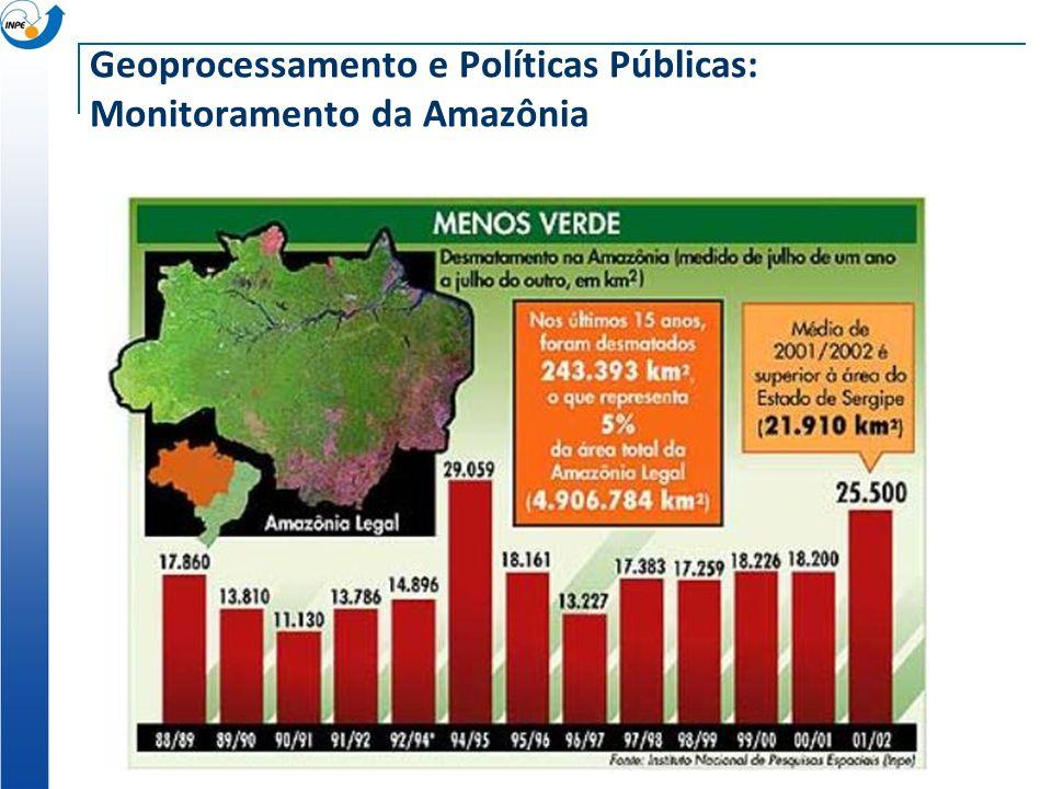 Geoprocessamento e Políticas Públicas: Monitoramento da Amazônia