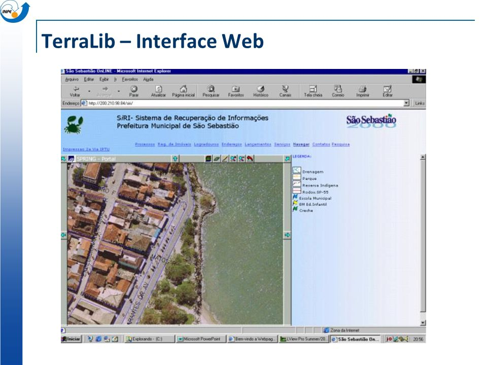 TerraLib – Interface Web