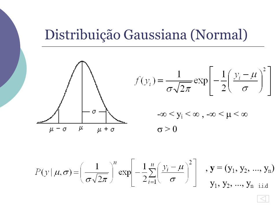 Distribuição Gaussiana (Normal)