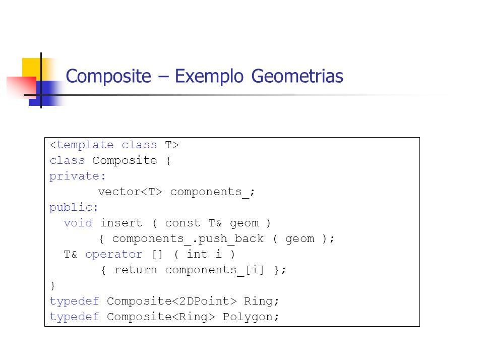 Composite – Exemplo Geometrias