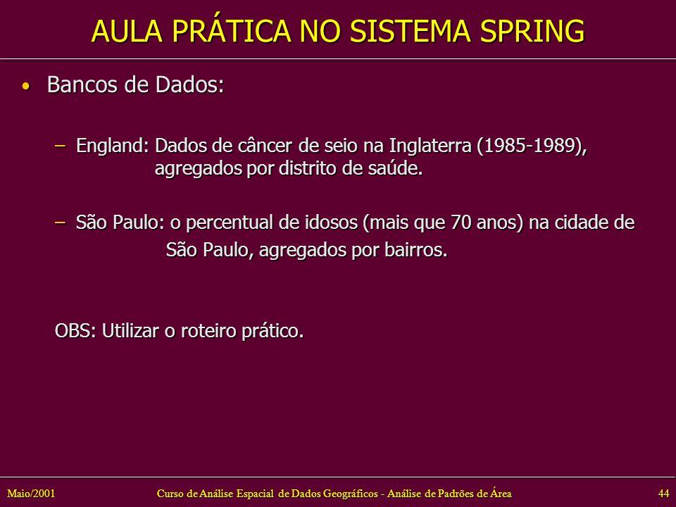 AULA PRÁTICA NO SISTEMA SPRING