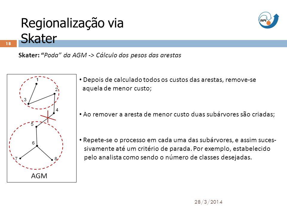 Regionalização via Skater