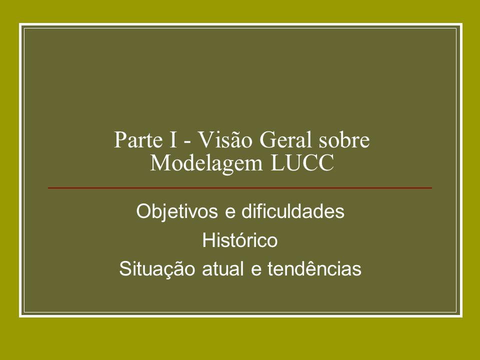 Parte I - Visão Geral sobre Modelagem LUCC
