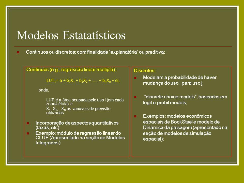 Modelos Estatatísticos