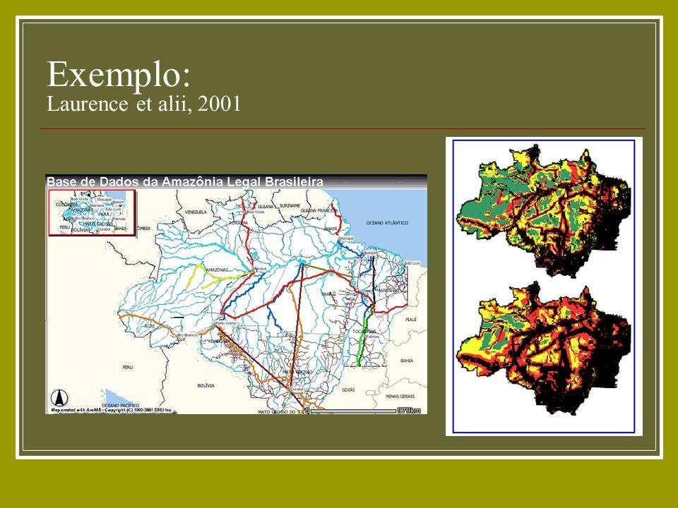 Exemplo: Laurence et alii, 2001