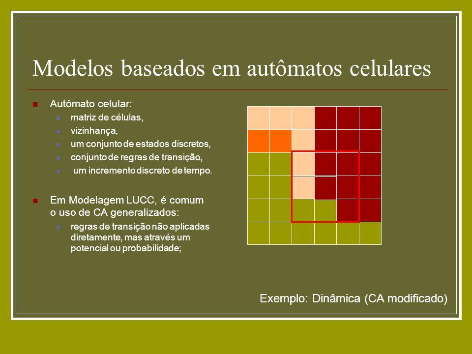 Modelos baseados em autômatos celulares