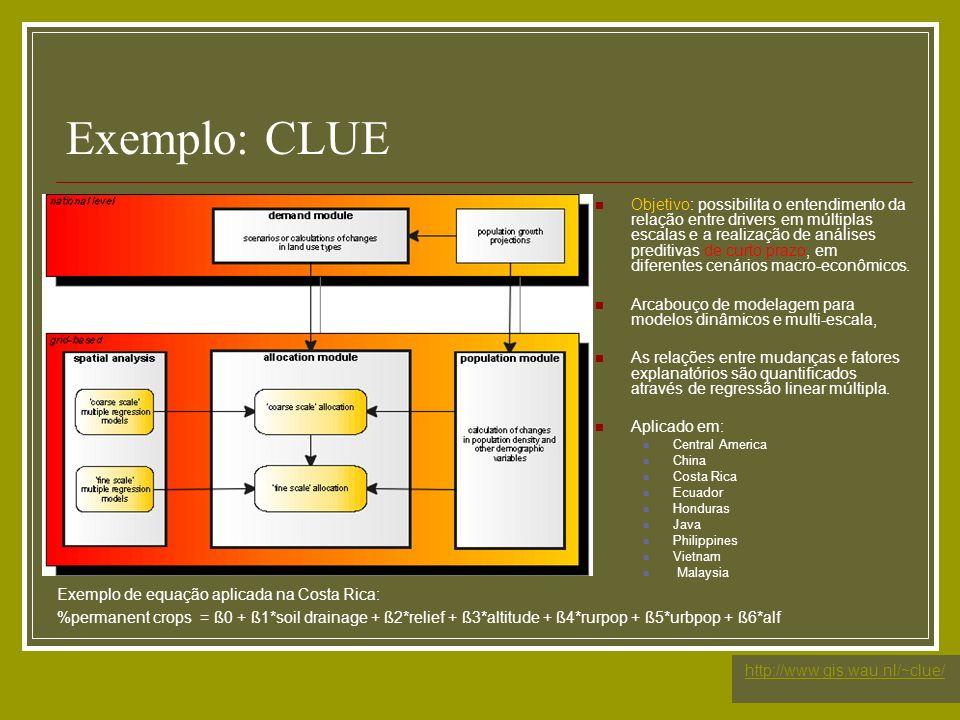 Exemplo: CLUE