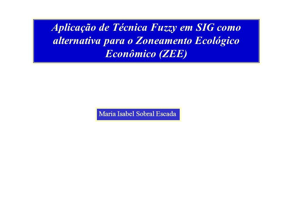 Aplicação de Técnica Fuzzy em SIG como alternativa para o Zoneamento Ecológico Econômico (ZEE)