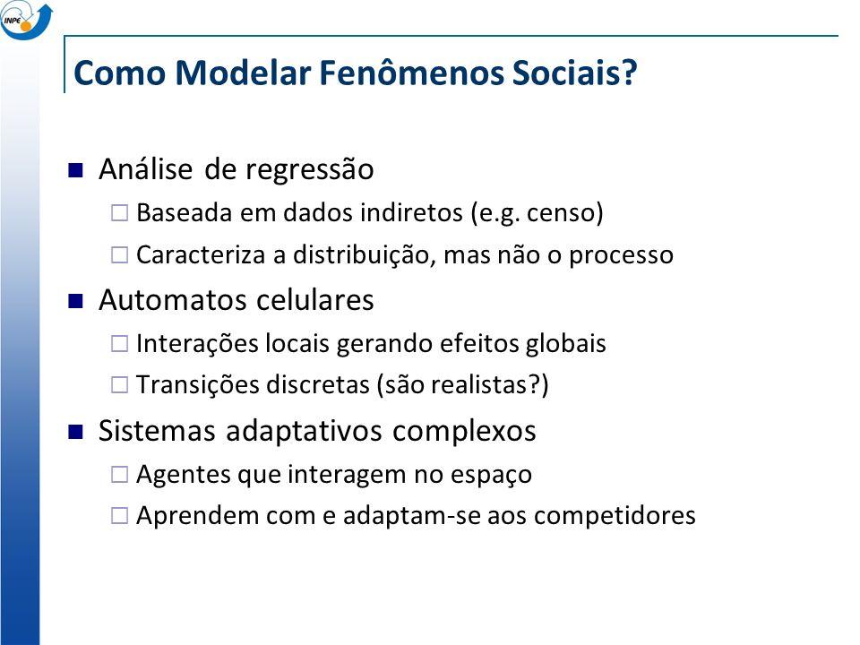 Como Modelar Fenômenos Sociais