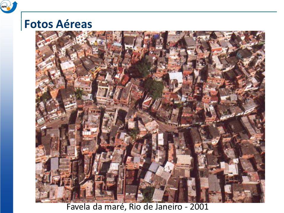 Fotos Aéreas Favela da maré, Rio de Janeiro - 2001