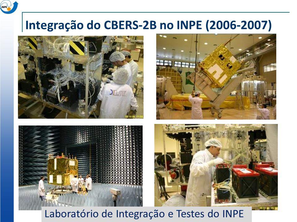 Integração do CBERS-2B no INPE (2006-2007)