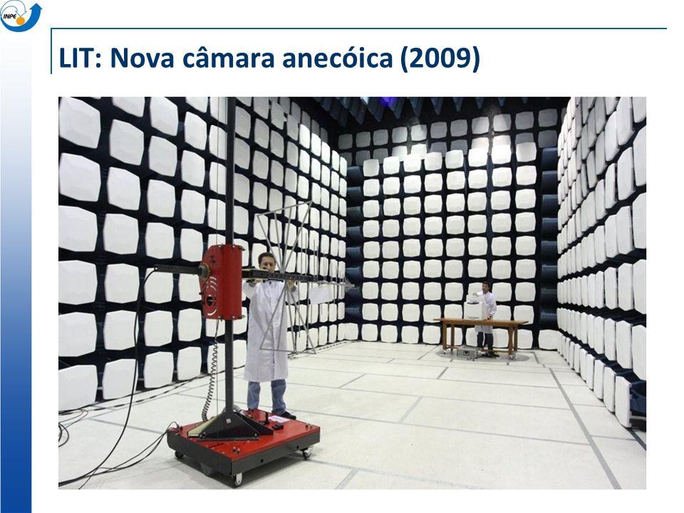 LIT: Nova câmara anecóica (2009)