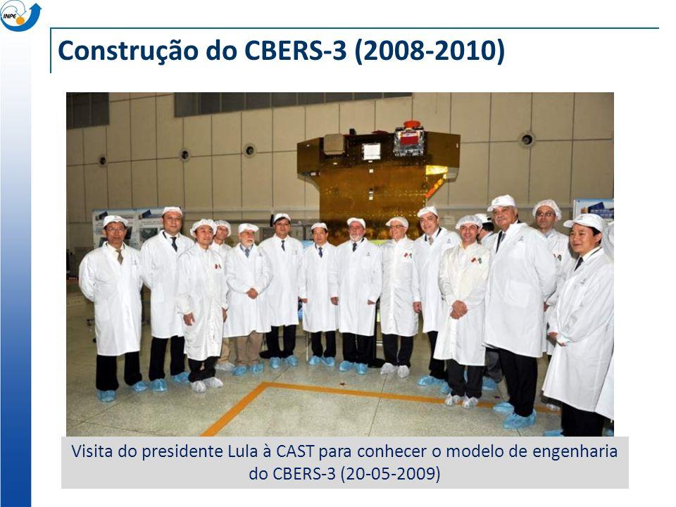 Construção do CBERS-3 (2008-2010)