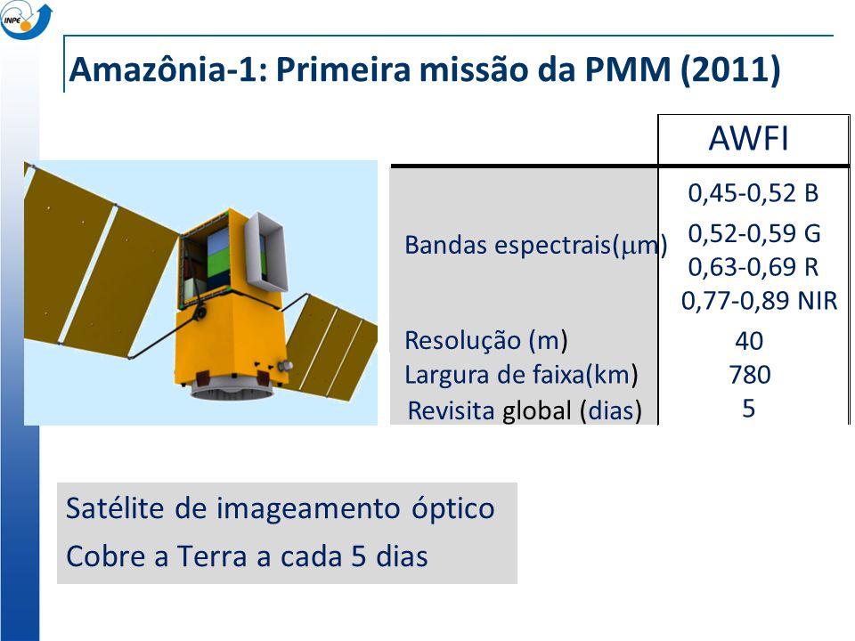 Amazônia-1: Primeira missão da PMM (2011)