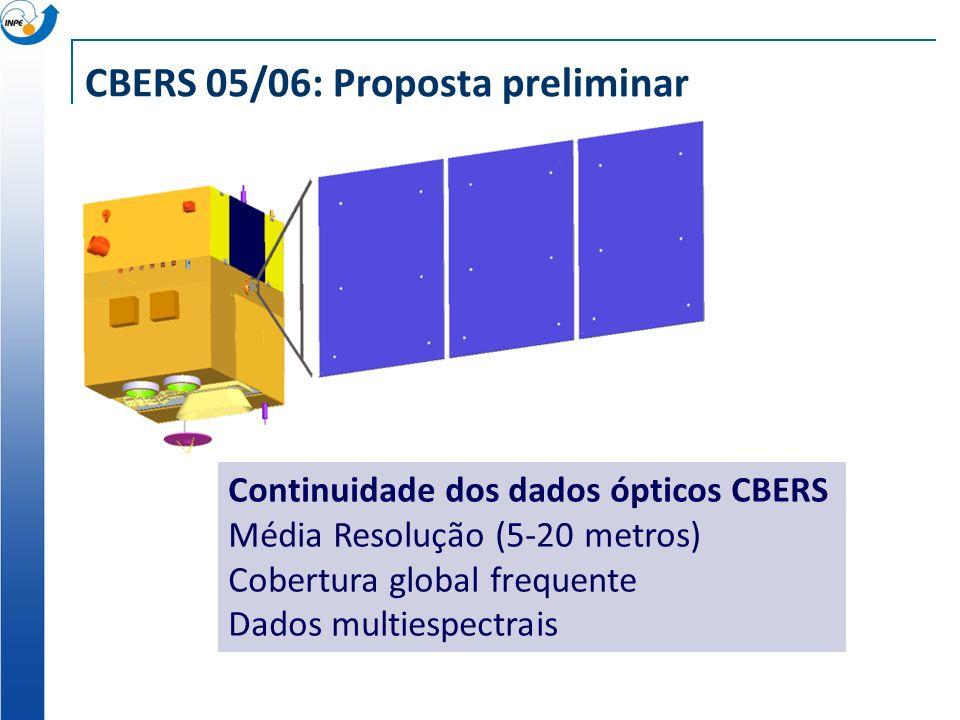 CBERS 05/06: Proposta preliminar