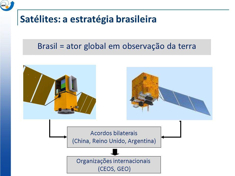 Satélites: a estratégia brasileira