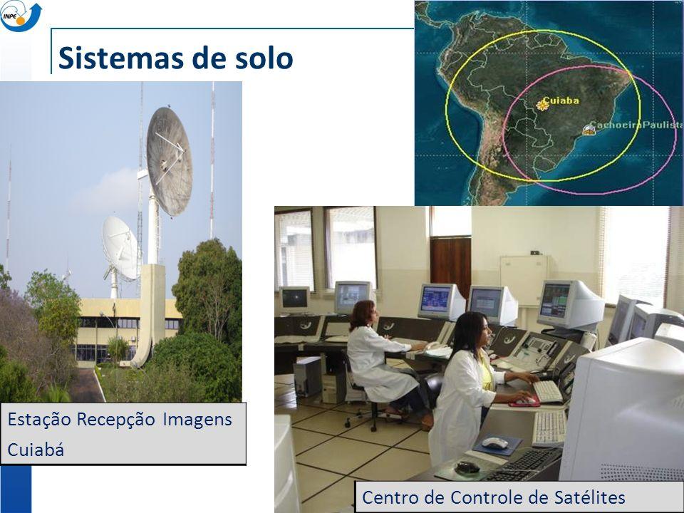 Sistemas de solo Estação Recepção Imagens Cuiabá