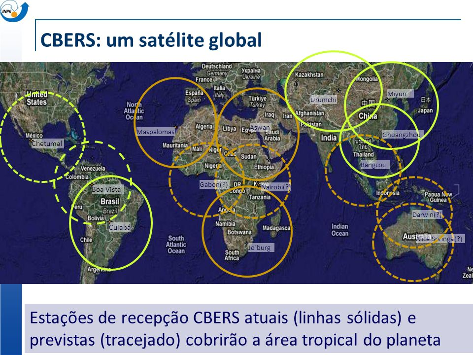CBERS: um satélite global