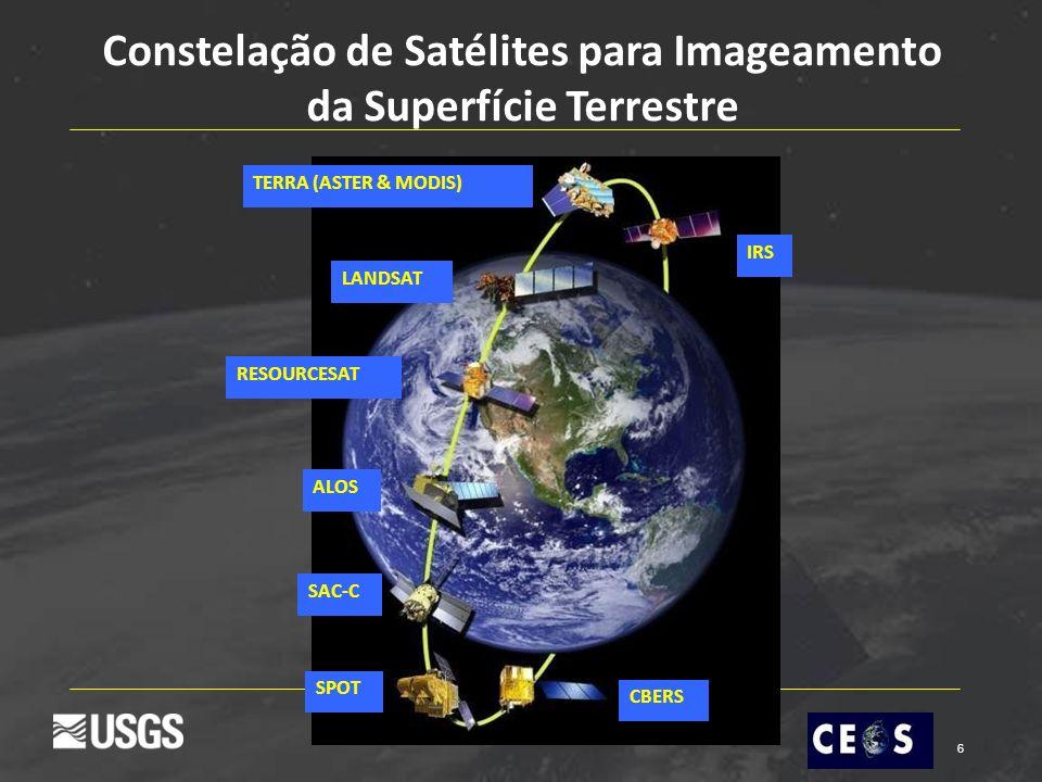 Constelação de Satélites para Imageamento da Superfície Terrestre