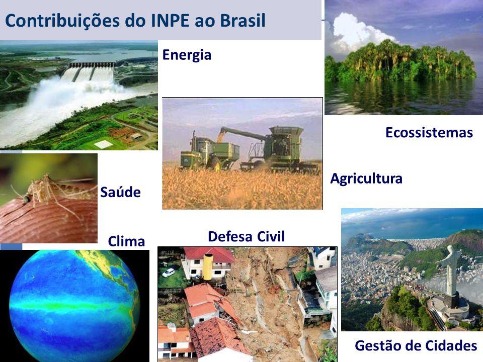 Contribuições do INPE ao Brasil