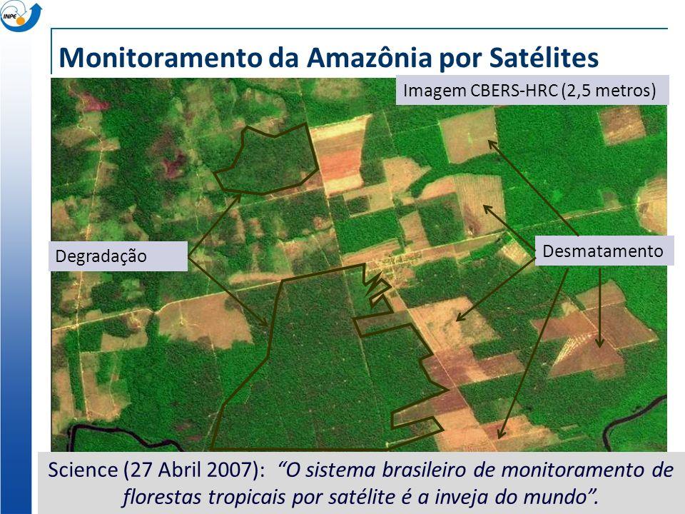Monitoramento da Amazônia por Satélites