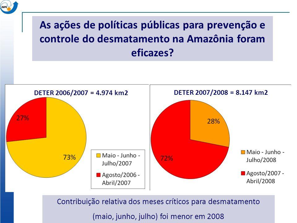 As ações de políticas públicas para prevenção e controle do desmatamento na Amazônia foram eficazes