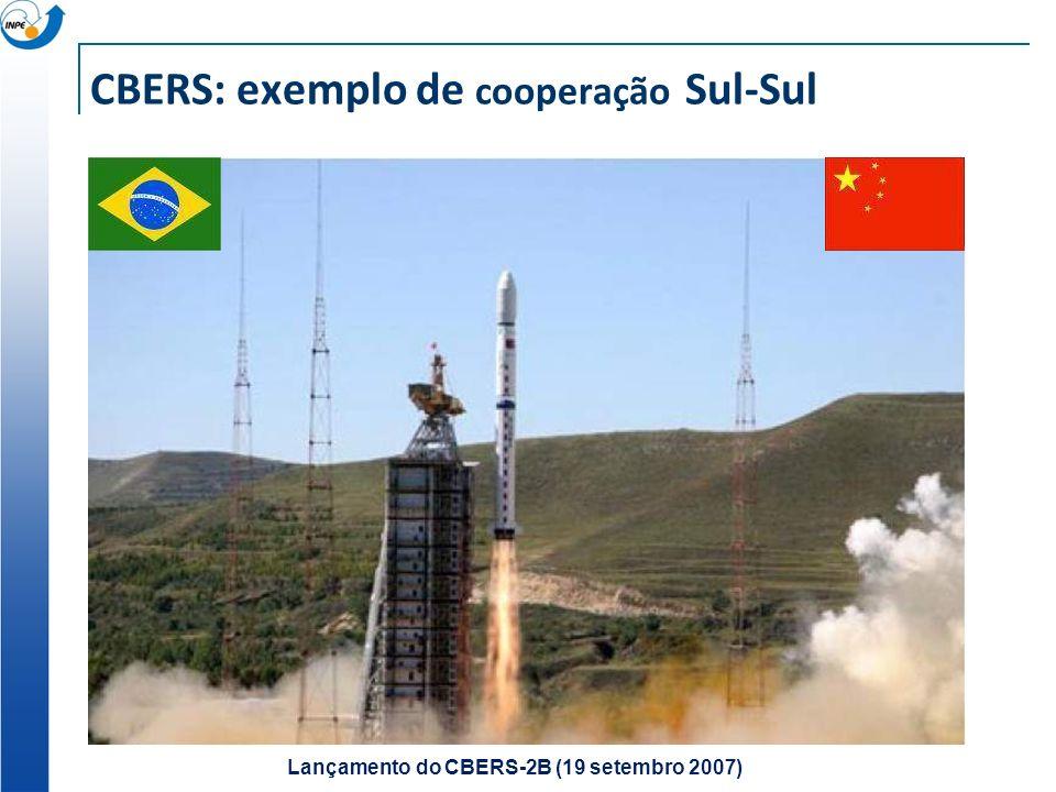 CBERS: exemplo de cooperação Sul-Sul